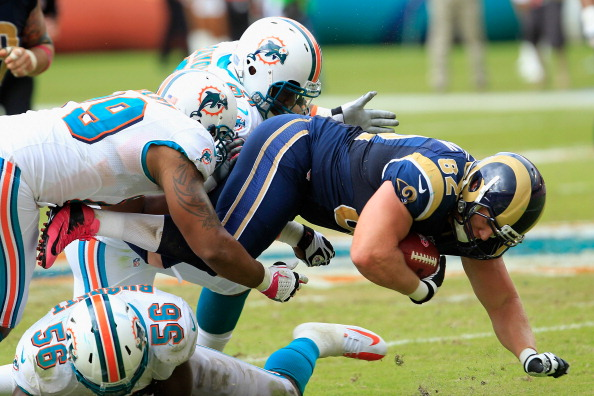 Dolphins Look Bad; Still Find a Way to Beat the Rams 17-14
