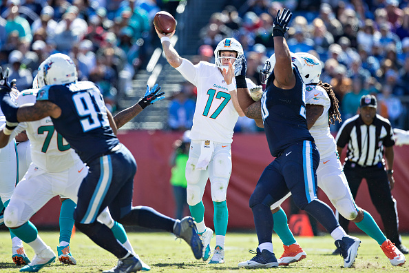 Miami Dolphins v Tennessee Titans